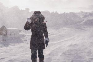 Aku sedang latihan menghadapi badai :) Photo credit: Husband